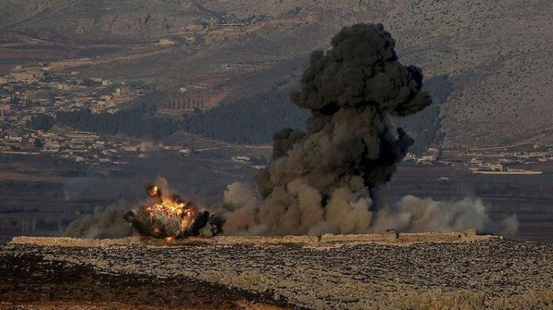 Jetler Afrin'de PYD Hedeflerini Vurmaya Başladı! TSK Operasyonun Adını Açıkladı