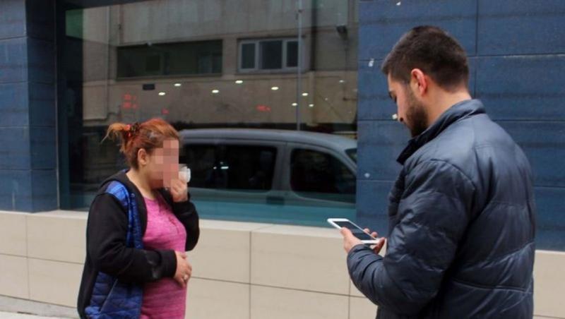 Karaman'da Koca Dehşeti! 7 Aylık Hamile Karısına Sokak Ortasında Dayak Attı