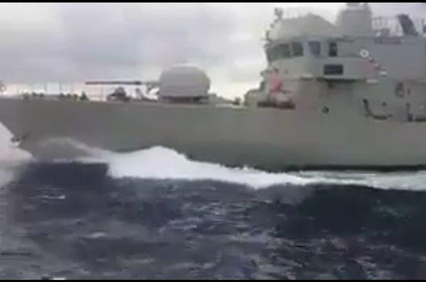 Kardak'ta Sıcak Anlar! Türk Sahil Güvenliği İle Yunan Hücum Botu Çarpıştı