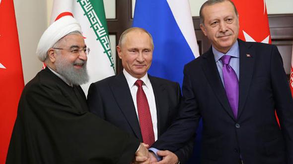 """İran Cumhurbaşkanı Ruhani Resmen Duyurdu! """"Putin Ve Erdoğan İle Birlikte…"""""""
