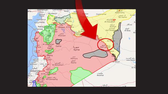 Suriye'de Gece Yarısı Petrol Savaşları: Esad PYD'yi ABD Esad'ı Vurdu!
