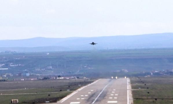 Vur Emri Verildi! Diyarbakır'da Bomba Yüklü F-16'lar Peş Peşe Havalandı!