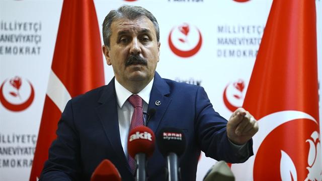 """BBP Genel Başkanı Mustafa Destici Resmen Açıkladı! """"Cumhurbaşkanımız Bana Teklifte Bulundu"""""""