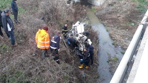 Edirne'de Yürek Yakan Kaza! Baba Ve Oğul Otomobilin İçinde Feci Şekilde Can Verdi