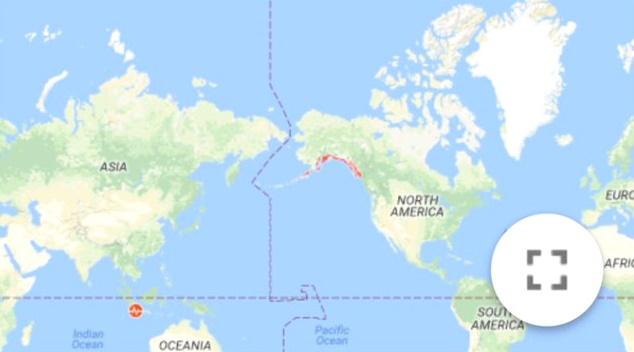 Son Dakika! 8,2 Şiddetinde Deprem Meydana Geldi, Tsunami Uyarısı Yapıldı!