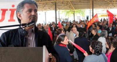 1 Mayıs Kutlamalarında Olay! HDP'li Milletvekilinin Sözleri Ortalığı Karıştırdı