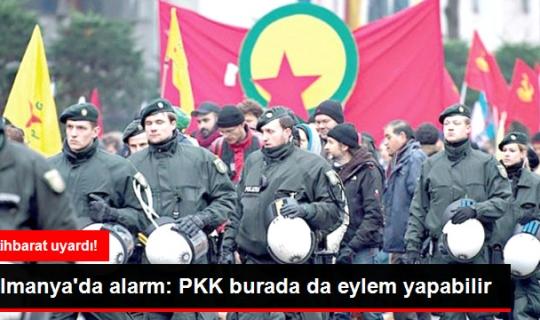 Almanya'da PKK Alarmı! Referandum Öncesi ve Sonrasında Saldırabilirler!