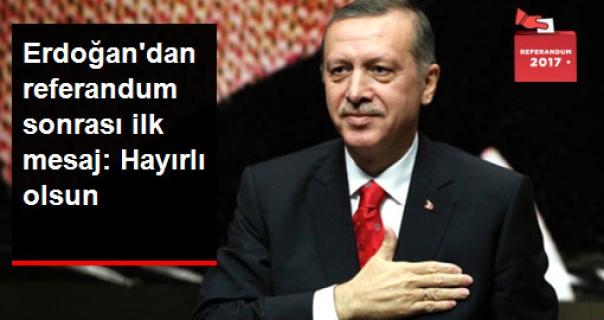 Referandum Sonuçlarının Açıklanmasından Sonra Erdoğan'dan Yıldırım ve Bahçeli'ye Telefon!