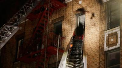 ABD'de Korkunç Facia! 5 Katlı Binada Yangın Çıktı! 12 Ölü, 15 Yaralı