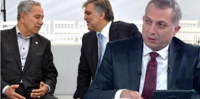 """Abdullah Gül Ve Bülent Arınç'a AK Parti'den Sert Tepki! """"Hattımız Erdoğan Karşıtlığı Deyin Bilelim"""""""