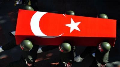 Afrin'de Hain Tuzak! 1 Teğmen Şehit Oldu