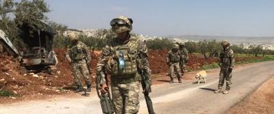 Afrin'de Köşeye Sıkışan Teröristler Dağa Kaçtı, Türk Jetleri Tespit Edip Vurdu!