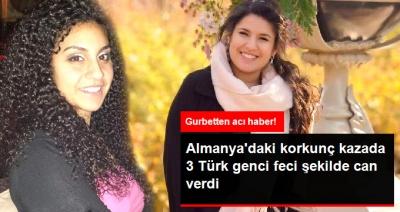 Almanya'dan Acı Haber! Korkunç Kazada Türk Genci Feci Şekilde Can Verdi
