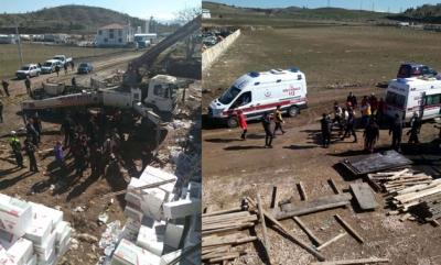 AVM İnşaatında Çökme Meydana Geldi! Yaralı İşçiler Var