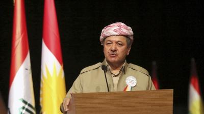 """Barzani'den Yine Küstah Açıklamalar! """"Bağımsız Kürdistan'ın Kapısını Açacağız"""""""