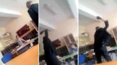 Burdur'da Rezalet Görüntüler! Rehabilitasyon Merkezinde Öğretmen Engelli Öğrenciye Şiddet Uyguladı