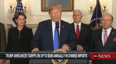 Çin Çıldıracak! Trump, Çin Mallarına 50 Milyar Dolarlık Gümrük Vergisi Getiren Genelgeyi İmzaladı