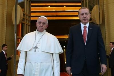 Cumhurbaşkanı Erdoğan Vatikan'a Gidiyor: Gündemin Sıcak Konusu: Kudüs!