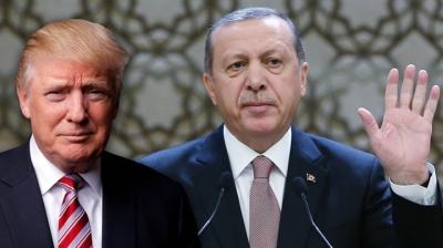 """Erdoğan'dan Trump'a Tokat Gibi Cevap! """"Türkiye'nin Demokrasi İradesini Dolarla Satın Alamazsınız"""""""