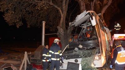 Eskişehir'de Tur Otobüsü Kaza Yaptı! 11 Ölü, 44 Yaralı