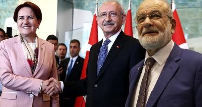 Flaş Flaş! CHP, İYİ Parti, Saadet Partisi ve Demokrat Parti İttifak Kararı Aldı