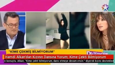 """Hamdi Alkan'dan Kızının Ateşli Dansına Olay Yorum: """"Kime Çekti Bilmiyorum"""""""