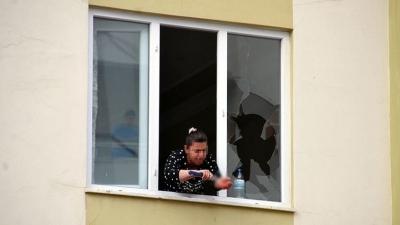 Kahramanmaraş'ta Akıl Almaz Olay! Bunalıma Giren Kadın Önce Evini Yaktı Sonra Da Bileklerini Kesti