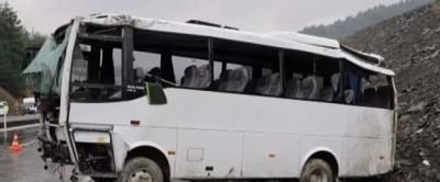 Kahramanmaraş'ta Askeri Midibüs Şarampole Devrildi! 17 Yaralı
