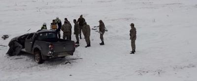 Kars'ta Korkunç Kaza! Şoför Donarak Hayatını Kaybetti