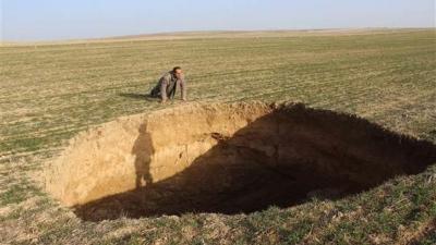 Konya'da Korkutan Olay! Yine Büyük Bir Obruk Oluştu