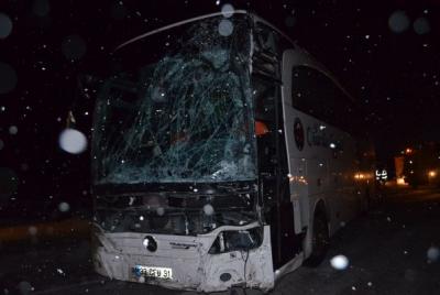Konya'da Zincirleme Kaza! 1Ölü, 18 Yaralı