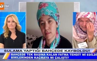 Müge Anlı 24 Ekim 2017 Son Bölümde Fatma Uyanık'tan Hala Bir Haber Yok! Genç Kadın 18 Gündür Aranıyor!