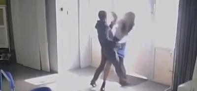 Nalburda Tecavüz Girişimi! Bıçaklı Saldırganın Kadına Tecavüz Etmeye Çalıştığı Anlar Saniye Saniye Güvenlik Kameralarına Yansıdı
