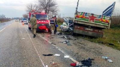 Osmaniye'de Korkunç Kaza! Kamyonetle Otomobil Çarpıştı: 3 Ölü, 4 Yaralı