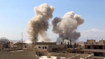Rus Savaş Uçakları İdlib'i Vurdu! 17 Ölü, 35 Yaralı