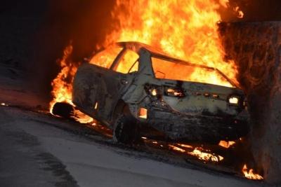 Tokat'ta Korkunç Kaza! 5 Kişi Otomobilde Yanarak Can Verdi