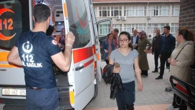 Tokat'ta Korkutan Olay! KYK Yurdundaki 69 Öğrenci Hastanelik Oldu