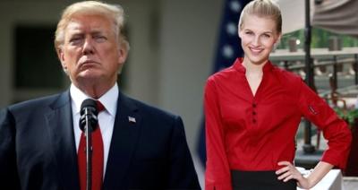 Tüm Dünya Bunu Konuşuyor! Trump Garson Kızla İlişkiye Girerken Yakalandı