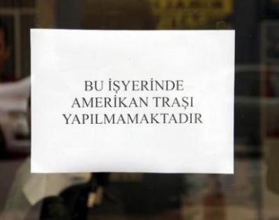 """Türk Berberlerden İlginç Amerika Tepkisi! """"Amerikan Tıraşı"""" Yapmak Yasaklandı"""