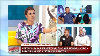 TV8 Gerçeğin Peşinde 17 Ekim 2017 Hakan Ekinci Olayı Giderek Karışıyor! Aile Üyeleri Birbirine Girdi!
