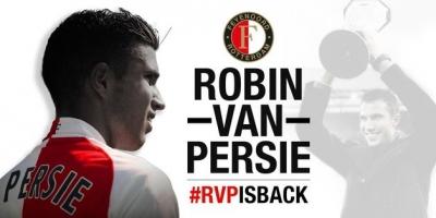 Ve Beklenen Oldu! Robin Van Persie Resmen Feyenoord'da