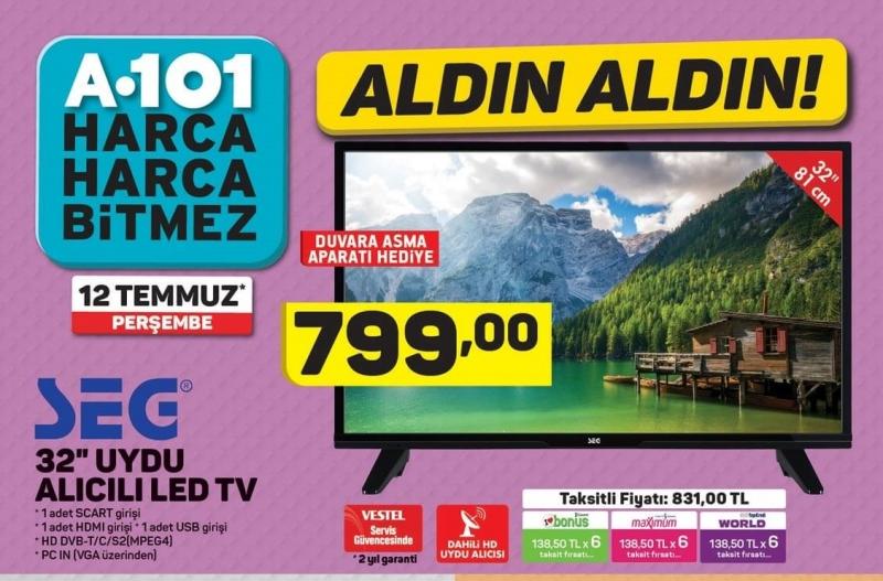 """A101 12 Temmuz 2018 Aktüel Ürünler Kataloğu """"Aldın Aldın"""" İndirimlerinde Neler Var?"""