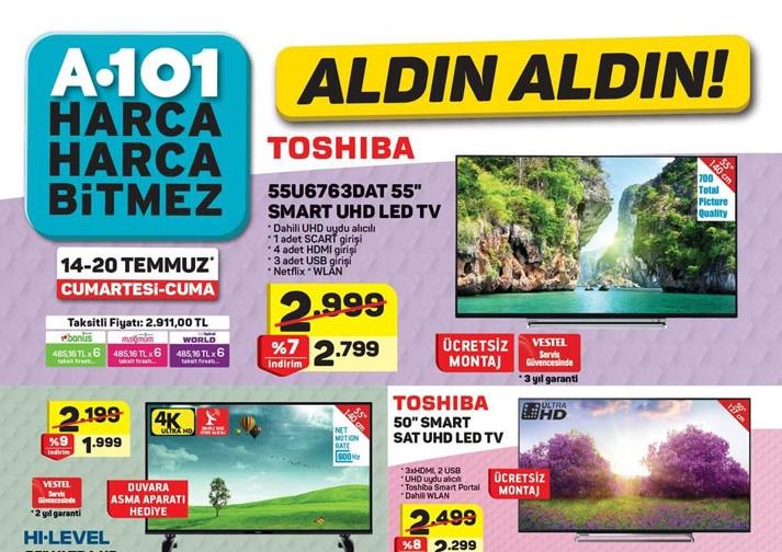 A101 14 Temmuz 2018 Aktüel Ürünler Kataloğu Hafta Sonu Fırsatları