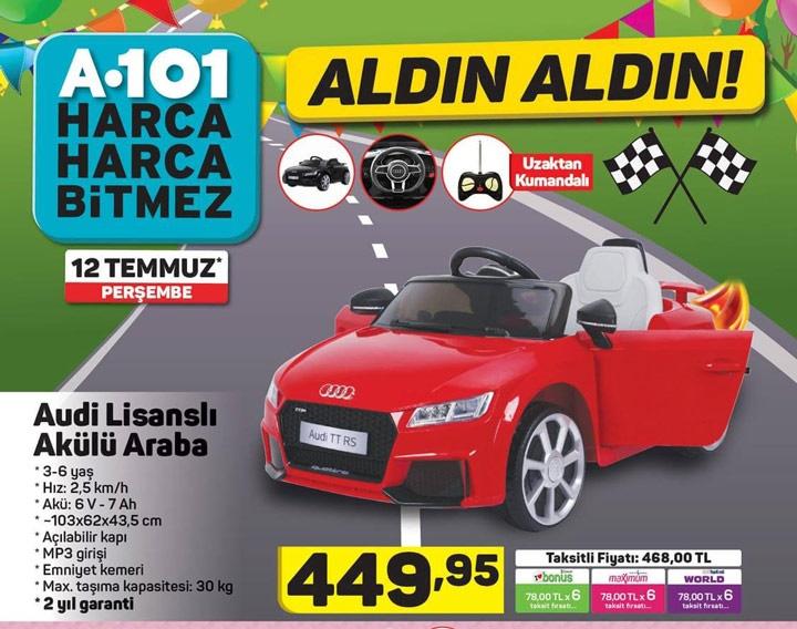 A101 Aktüel ile Akülü Araba Sadece 449,95 TL Fiyata Geliyor