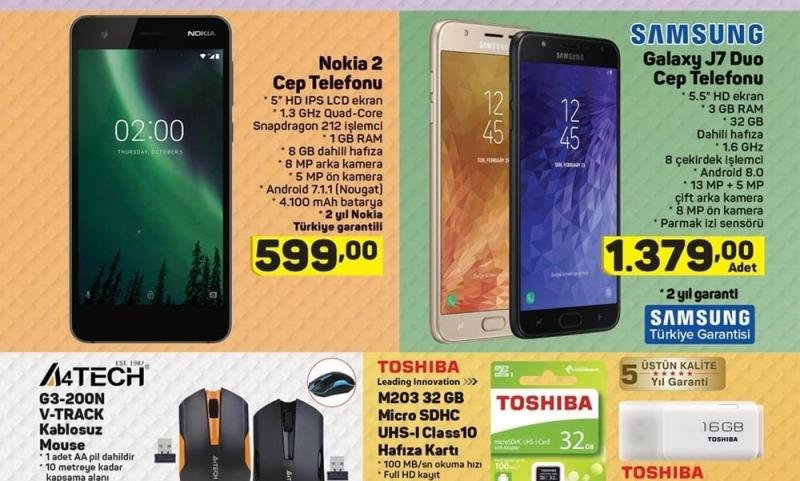 A101 Aktüel Nokia 2 Cep Telefonu Kampanyası