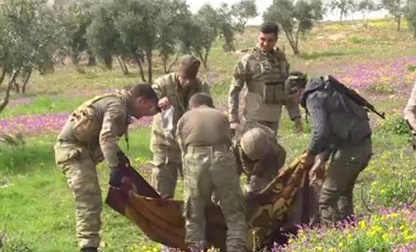 Afrin'de Köşeye Sıkışan Teröristler, Yollara Mayın Döşeyerek Sivilleri Hedef Alıyor
