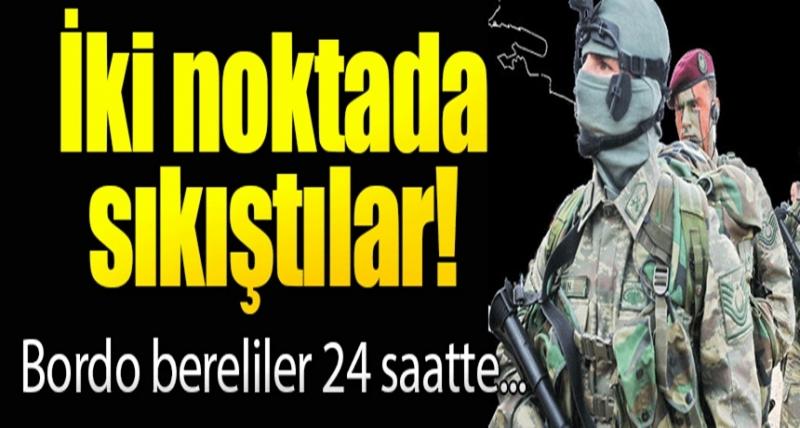 Afrin'den Bordo Bereliler Geçti! İlçeyi Haraca Bağlayan Çete Böyle Teslim Oldu!