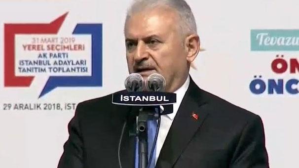 AK Parti'nin İstanbul Adayı Binali Yıldırım Bu Güzel Şehre Daha Hizmet Borcum Var