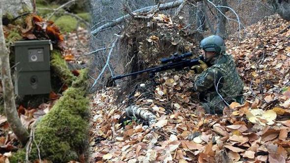 Amanos Dağları'nda Fotokapanlar PKK'lıları Tespit Etti! Özel Harekat Operasyon Düzenledi