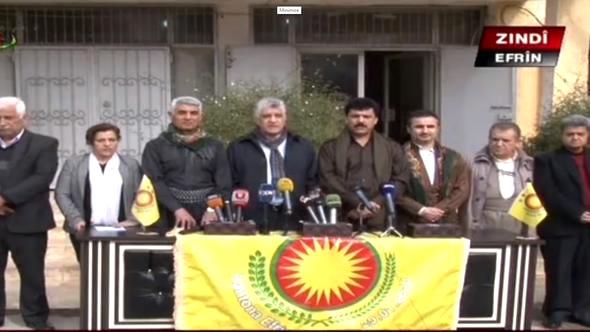 Barzani Yönetimi Skandallarına Devam Ediyor! Milletvekilleri Afrin'e Giderek Teröristlere Sahip Çıktı